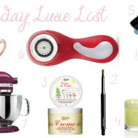 Holiday Luxe List